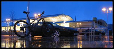 Cannondale Prophet and Ferrari 456GT