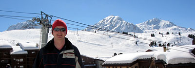Olly in Belle Plagne