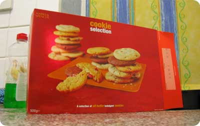 Marks and Spencer Cookie Collection