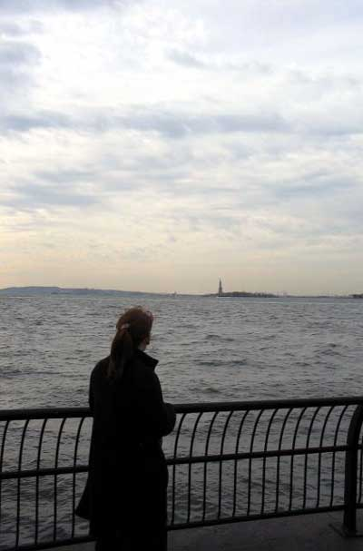 Picture of Lisa in Battery Park